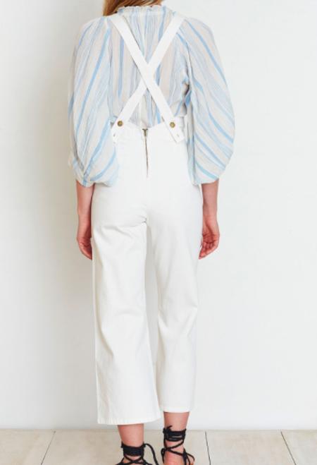 Apiece Apart Palmarosa Overall - White