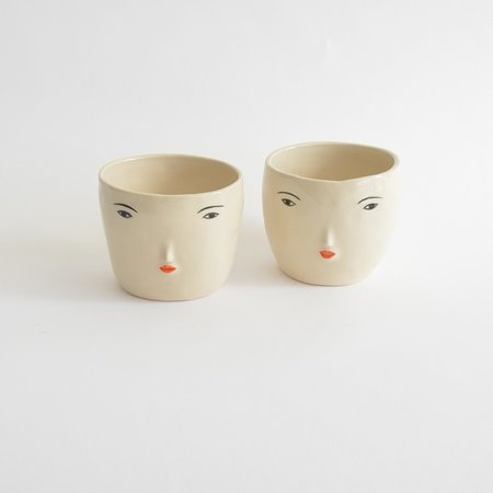 Rami Kim Girl Face Pot