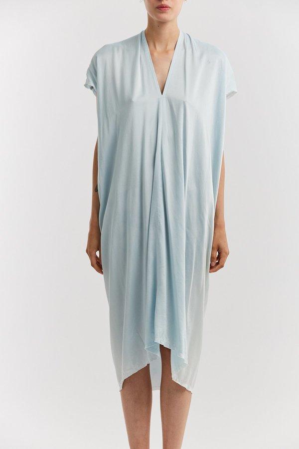 Miranda Bennett Everyday Charmeuse Dress - Light Indigo
