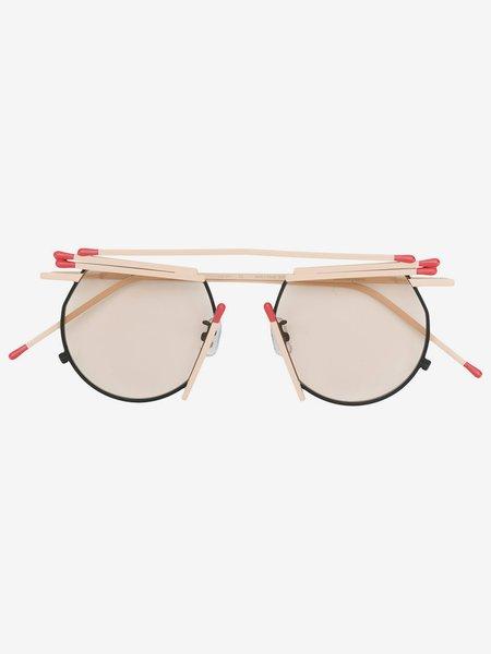 Unisex Henrik Vibskov Match Glasses - Beige Tinted