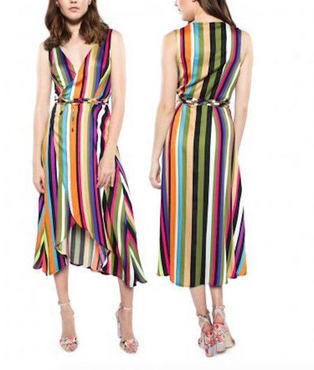 3rd Floor Studio Petra Wrap Dress