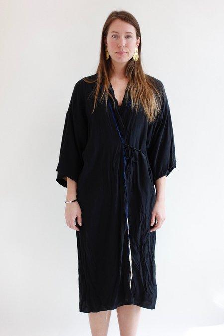 Hazel Brown Kimono Dress