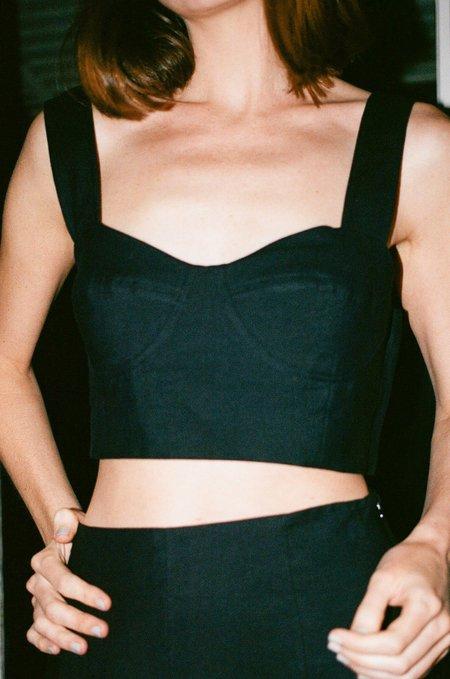 WALTZ Bralette Top - Black