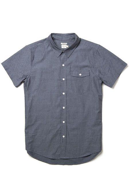 Bridge & Burn Thomas shirt - Chambray Polkadot