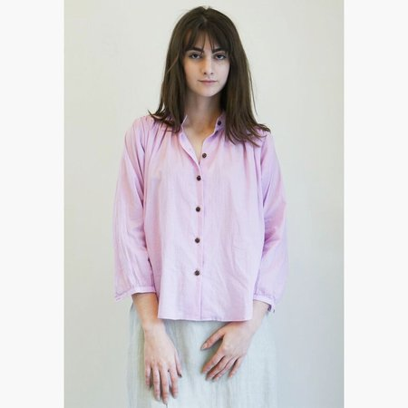 No.6 Quinn Field Blouse - Lilac