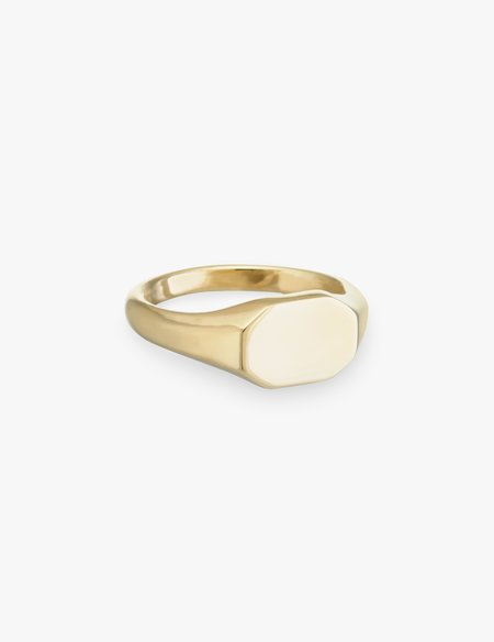Kathryn Bentley Hexagon Signet Ring