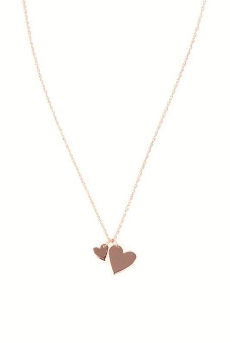 Jennifer Zeuner Mattea Necklace - YELLOW GOLD