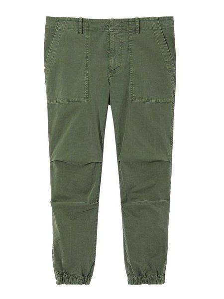 Nili Lotan Cropped Military Pant - Avocado