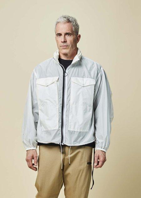 OAMC Nylon Field Jacket - White