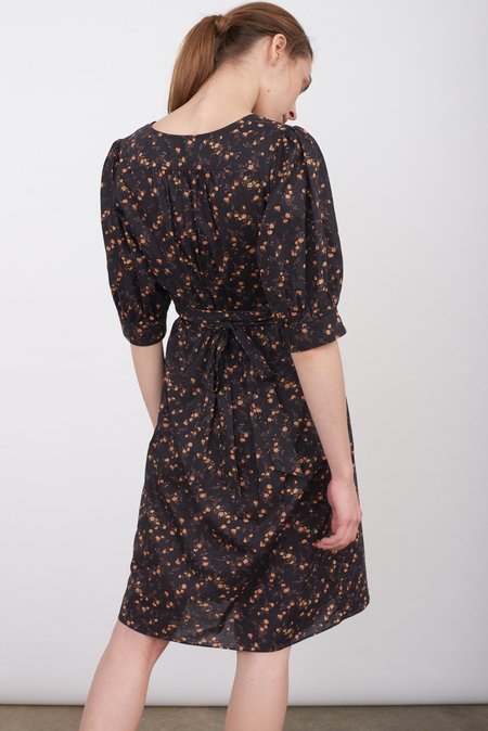 Justine Tabak cotton print wrap dress - Liberty