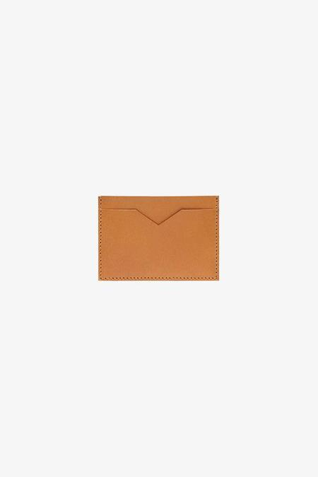 Anna Walker London Slim Card Holder Veg-tan Leather