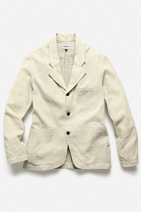 Fortune Goods RUM JACKET - NATURAL