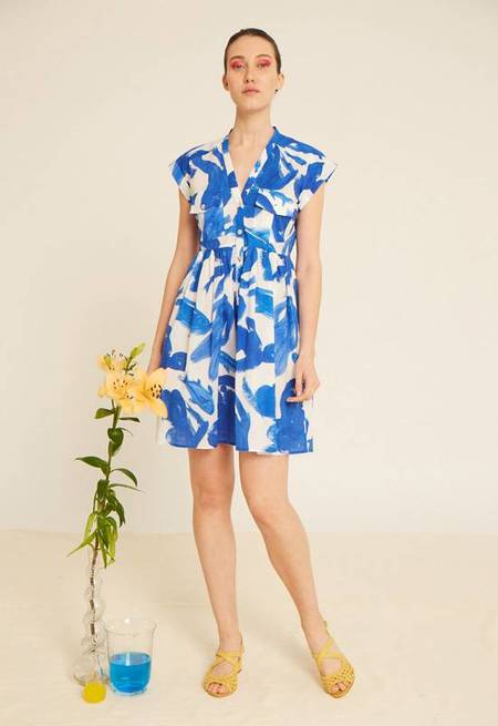 Heinui Neva Short Dress - Koi