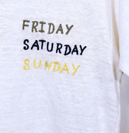 Unisex Banner Day Friday Saturday Sunday T-Shirt