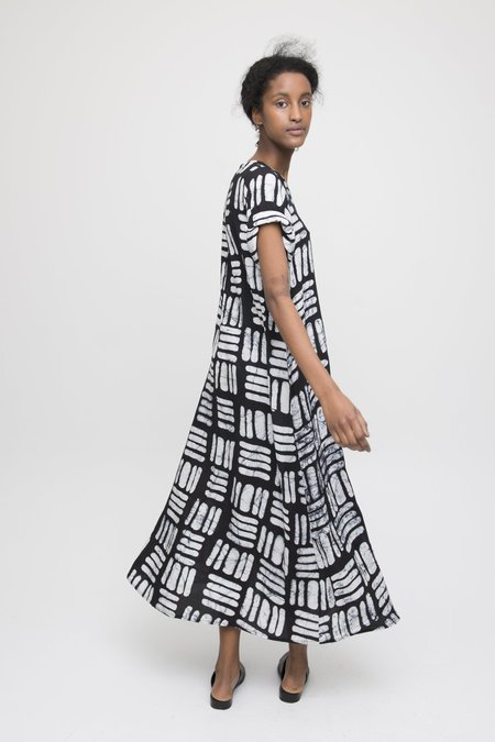 Osei-Duro Nonna Dress - Black Basket