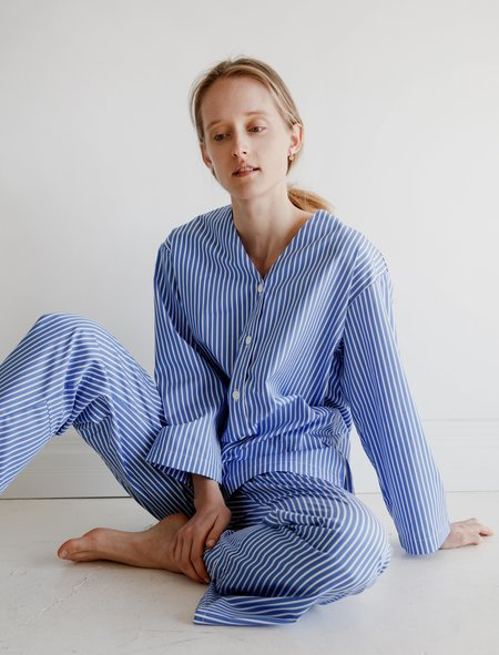 Kinda Sleepwear Mary Set Polo Pyjamas - Stripe