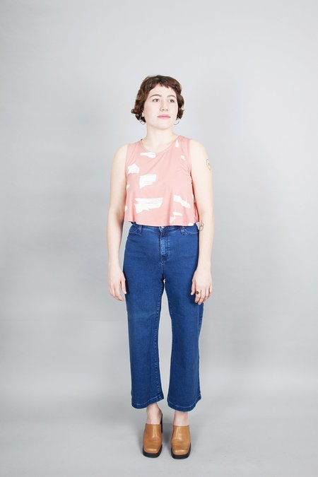 Eve Gravel Minnow Top - Blush