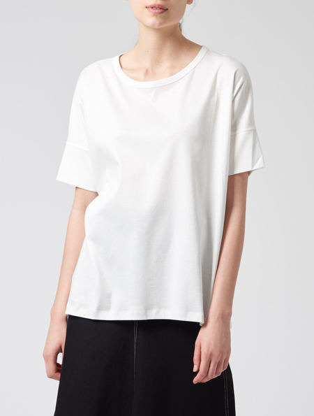 Lemaire Chalk Tee Shirt - White