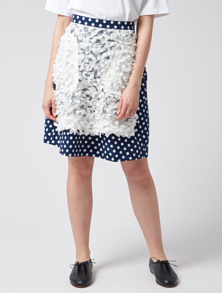 Peter Jensen Polka Dot Skirt