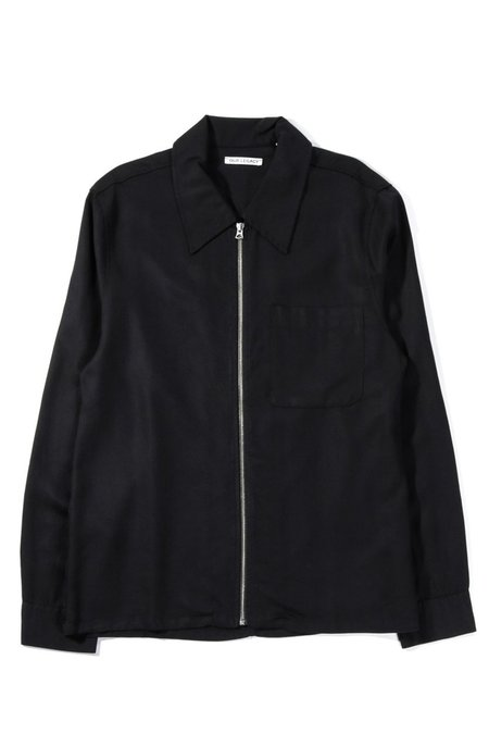 Our Legacy Drip Silky Wash Shirt - Black