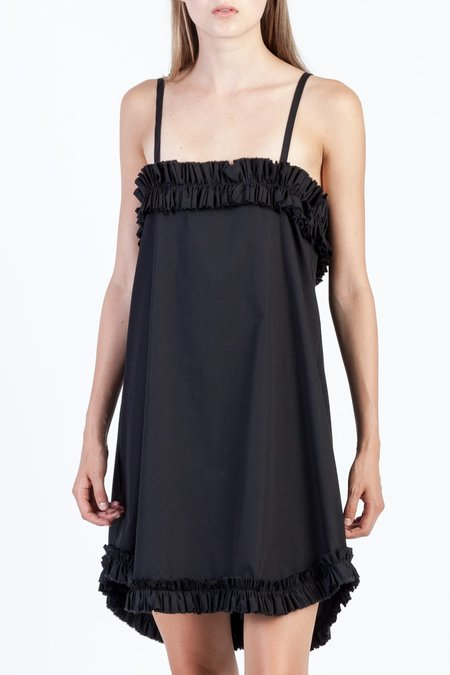 Toit Volant Willow Raw-Ruffled Top