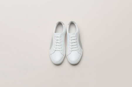 THEY New York Circle Low - White/Grey