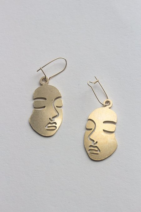 ANAKUH Face Earrings