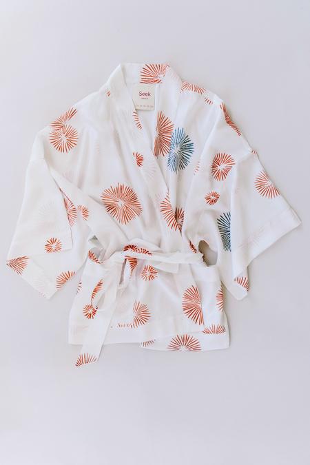 Seek Collective Silk Kimono