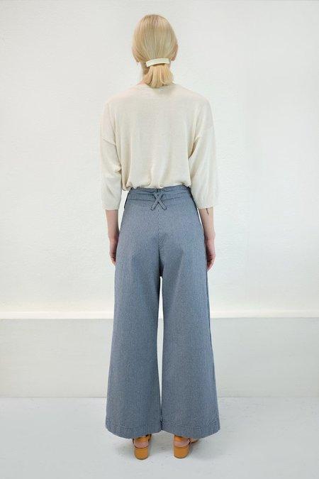 Micaela Greg Mini Check Wide Pant