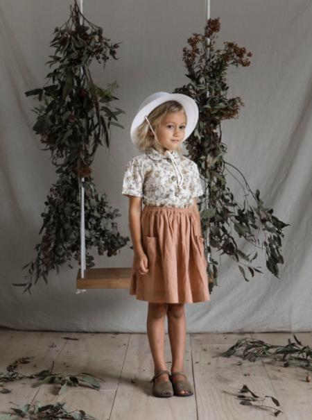 Kids Yoli & Otis Gael Blouse - Antique Floral