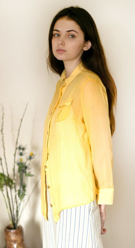 Colorant Wilden Blouse - Gold