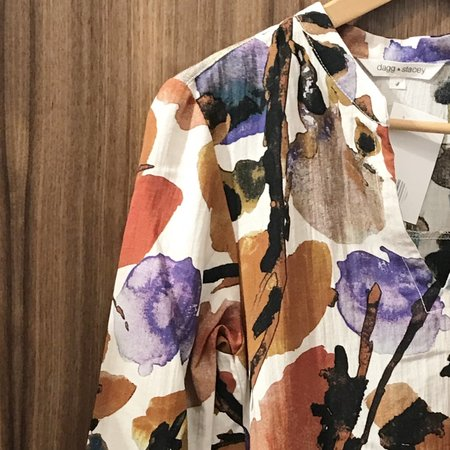 Dagg & Stacey Wolfe Tunic - Watercolour Print