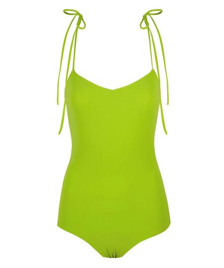 Pale Isla One Piece - Lime Green