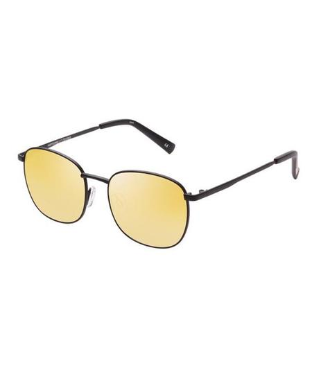 Unisex Le Specs Neptune Sunglasses - Matte Black