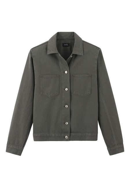 A.P.C. Blouson Career Jacket - Khaki