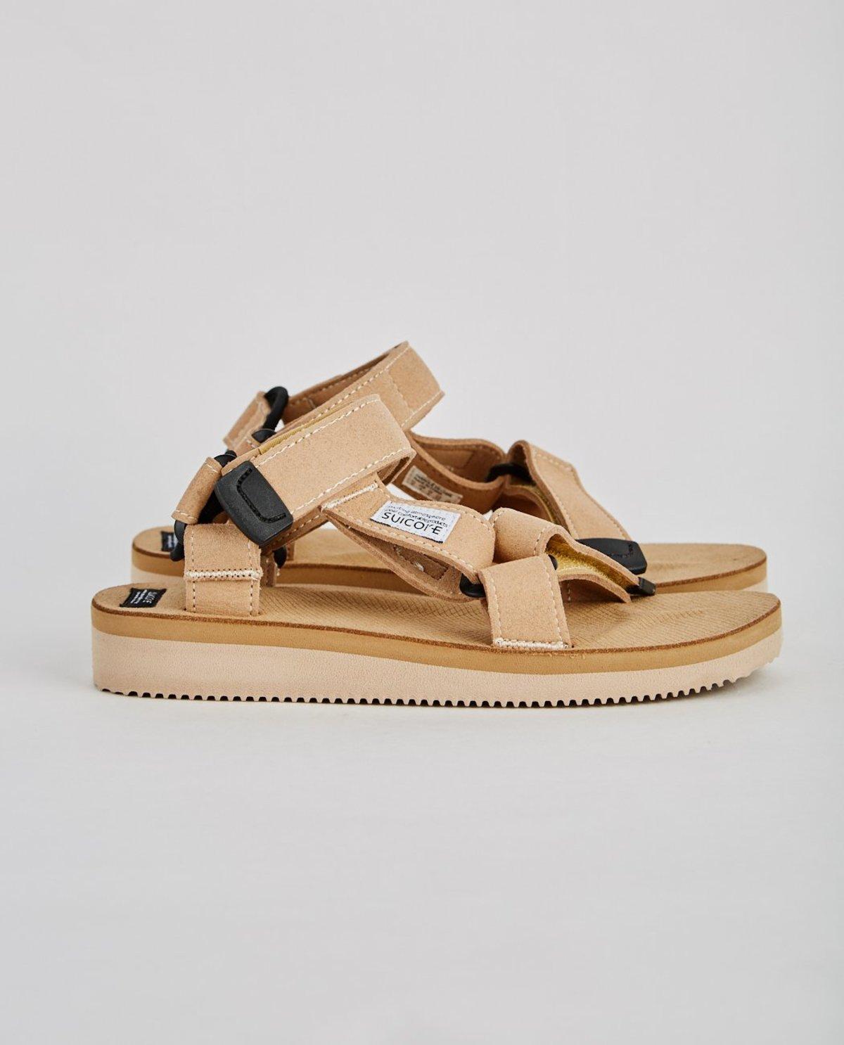 aa537907f441 Suicoke Depa ECS Sandal - beige