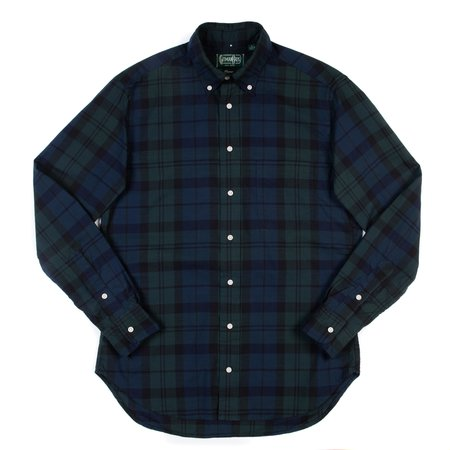 Gitman Vintage Long Sleeve Shirt - Blackwatch Madras