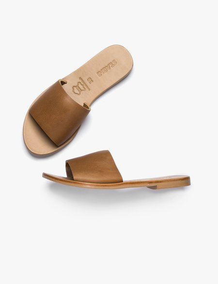 St.Agni Aiko Basic Slides - Tan