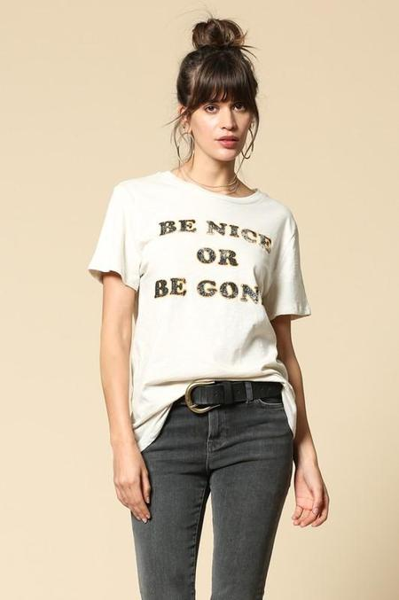 BLANK PAIGE Be Nice or Be Gone Graphic Tee