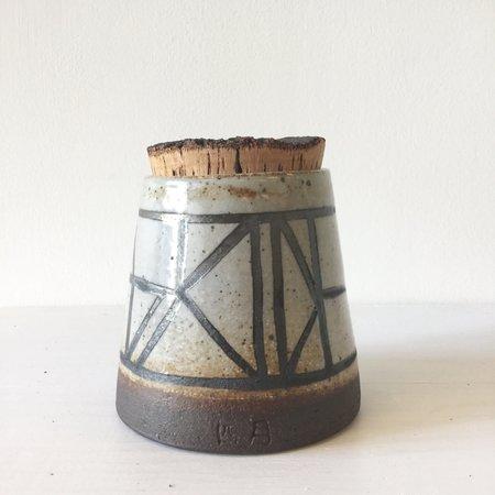 April Napier Clay Pot with Lid