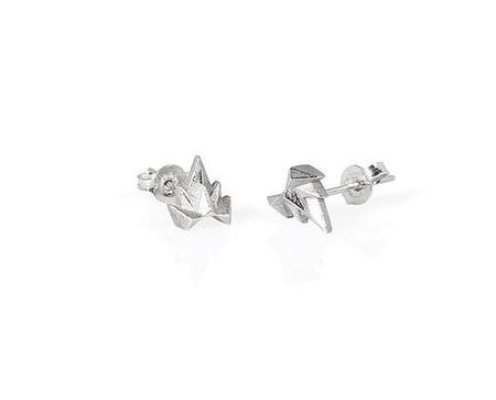 Holly Howe Point Studs - Silver