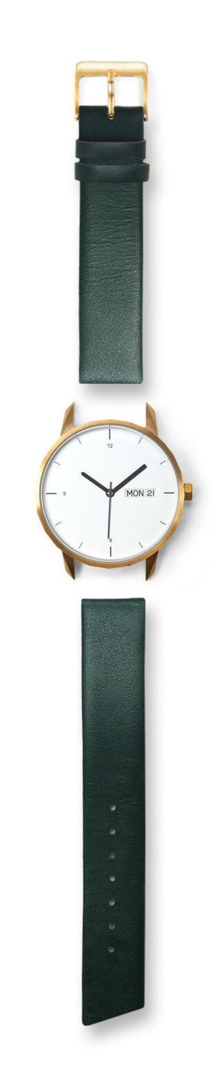Unisex Tinker Watches Standard Strap Watch - Gold/Green