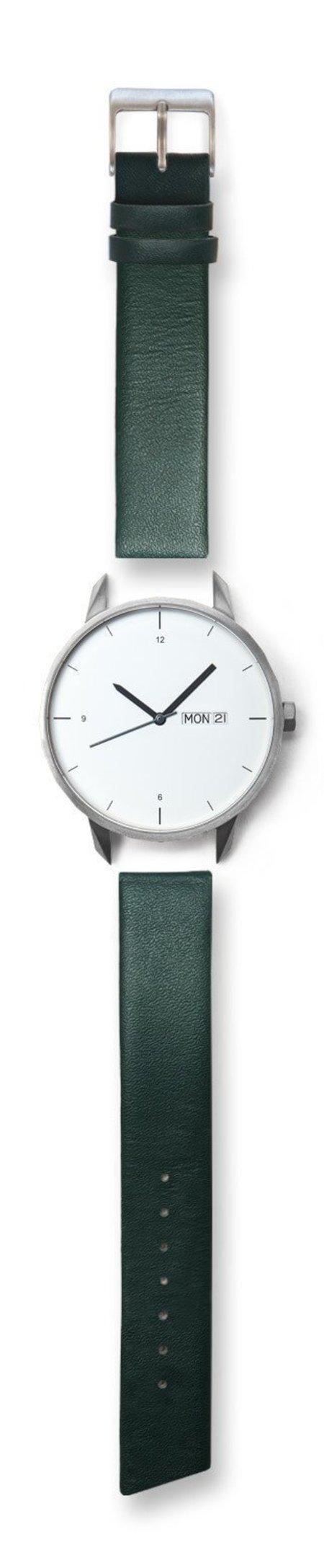 Unisex Tinker Watches Standard Strap 42mm Watch - Silver/Green