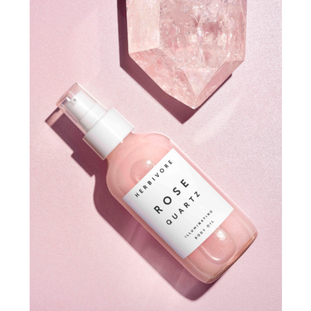 Herbivore Botanicals Rose Quartz Illuminating Body Oil