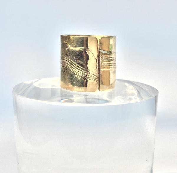 Brass Aurora Ring