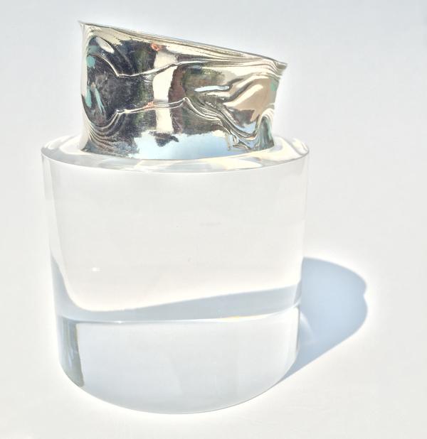 Sterling Silver Anticlast Bracelet