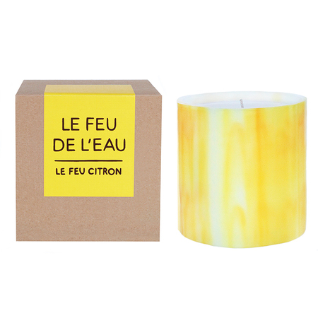 LE FEU DE L'EAU CITRON CANDLE - Yellow