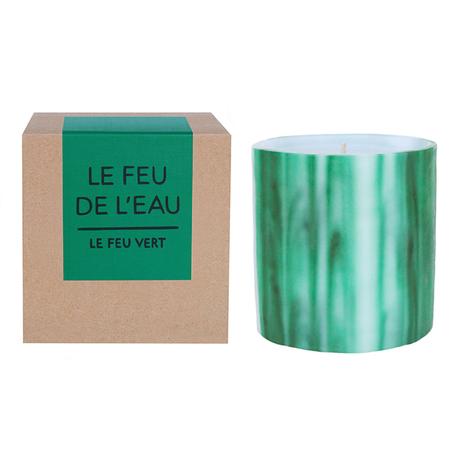 LE FEU DE L'EAU VERT CANDLE - Green
