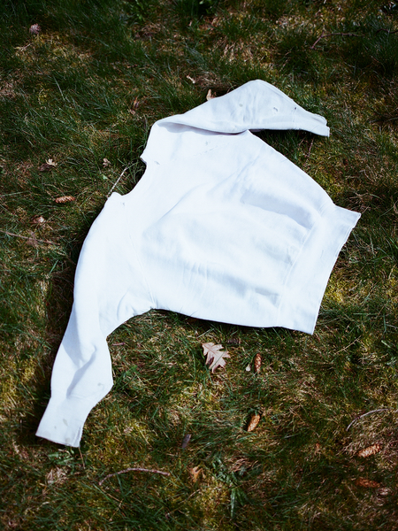 Shop Boswell Vintage 50's White Sweatshirt