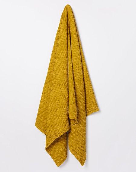 Hawkins New York Simple Waffle Bath Sheet Towel - Mustard
